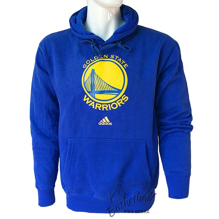Choisir Hoodies NBA Golden State Warriors Bleu City