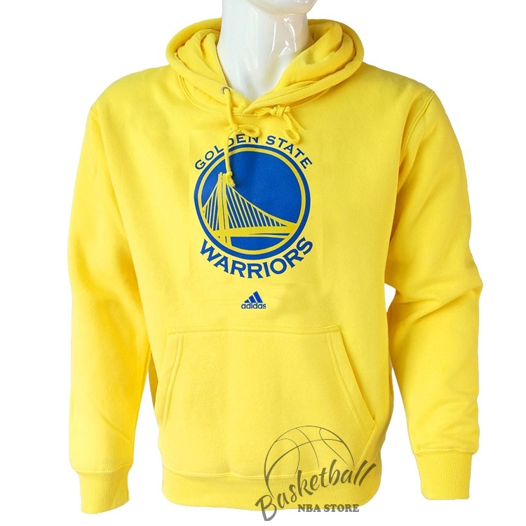 Choisir Hoodies NBA Golden State Warriors Jaune City