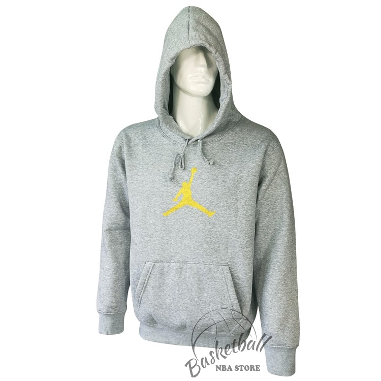 Choisir Hoodies NBA Jordan Gris