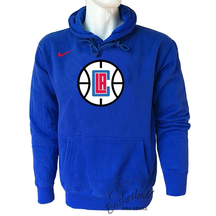 Choisir Hoodies NBA Los Angeles Clippers Nike Bleu