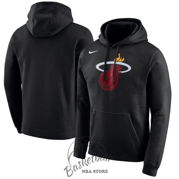 Choisir Hoodies NBA Miami Heat Nike Noir