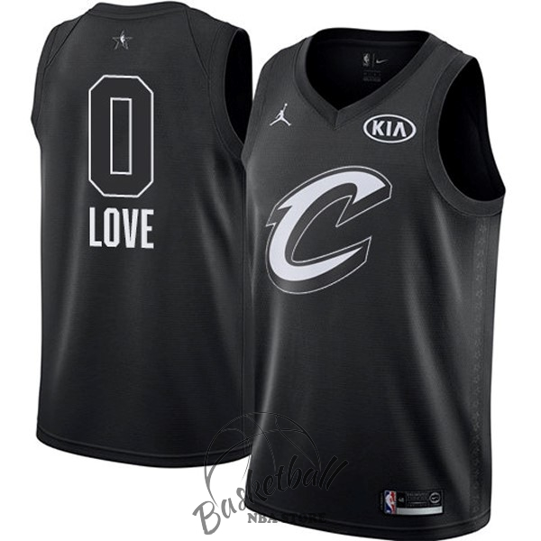 Choisir Maillot NBA 2018 All Star NO.0 Kevin Love Noir