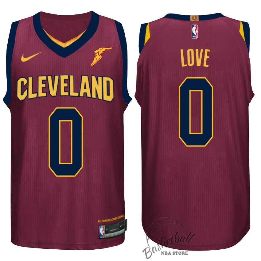 Choisir Maillot NBA Nike Cleveland Cavaliers NO.0 Kevin Love Rouge