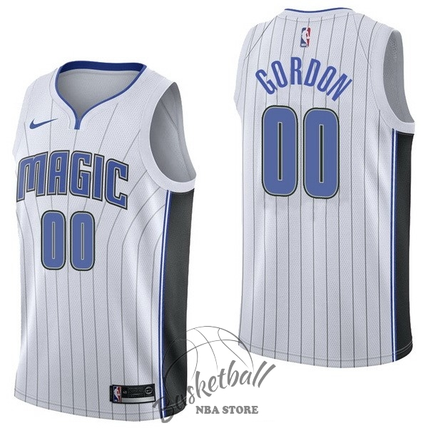 Choisir Maillot NBA Nike Orlando Magic NO.0 Aaro Gordon Blanc Association