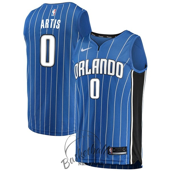 Choisir Maillot NBA Nike Orlando Magic NO.0 Jamel Artis Bleu Icon