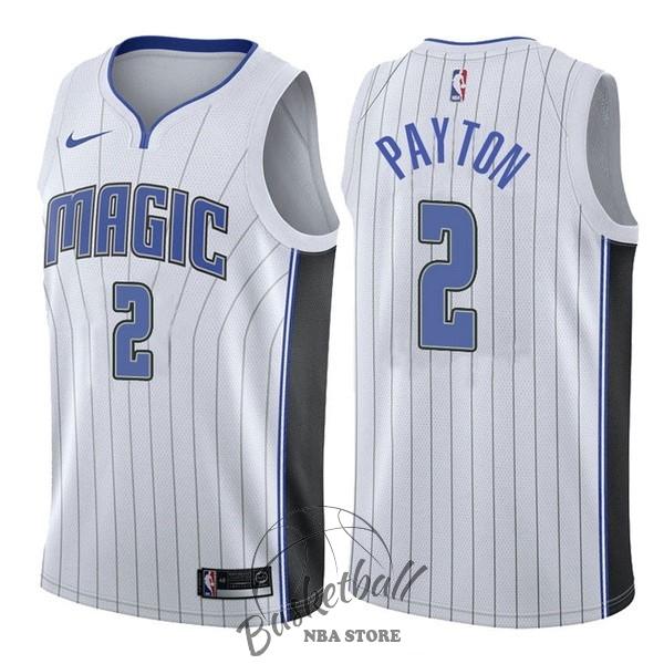Choisir Maillot NBA Nike Orlando Magic NO.2 Elfrid Payton Blanc Association