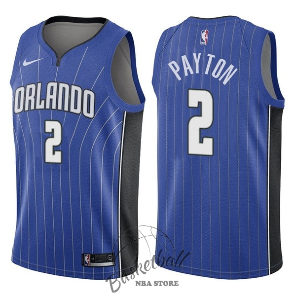 Choisir Maillot NBA Nike Orlando Magic NO.2 Elfrid Payton Bleu Icon