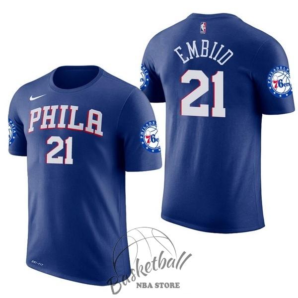 Maillot NBA Joel Embiid Philadelphia Sixers bleu