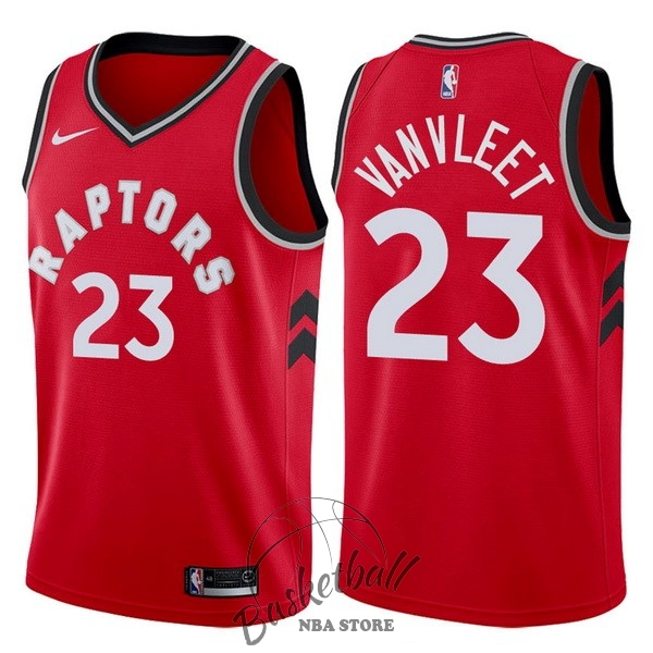 Choisir Maillot NBA Nike Toronto Raptors NO.23 Fred VanVleet Rouge Icon