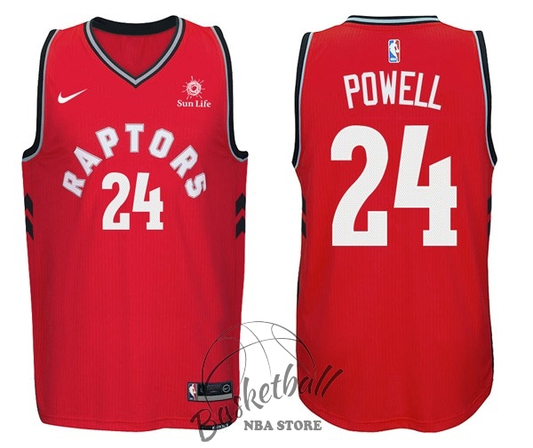 Choisir Maillot NBA Nike Toronto Raptors NO.24 Norman Powell Rouge