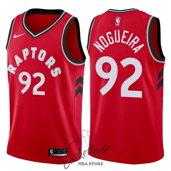 Choisir Maillot NBA Nike Toronto Raptors NO.92 Lucas Nogueira Rouge Icon