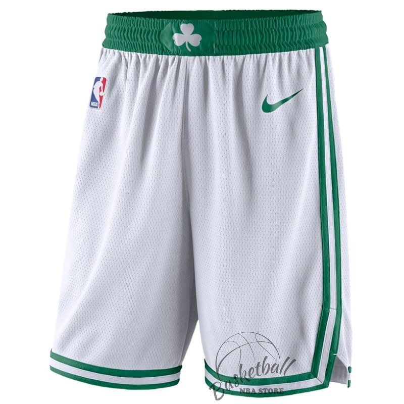Choisir Short Basket Boston Celtics Nike Blanc