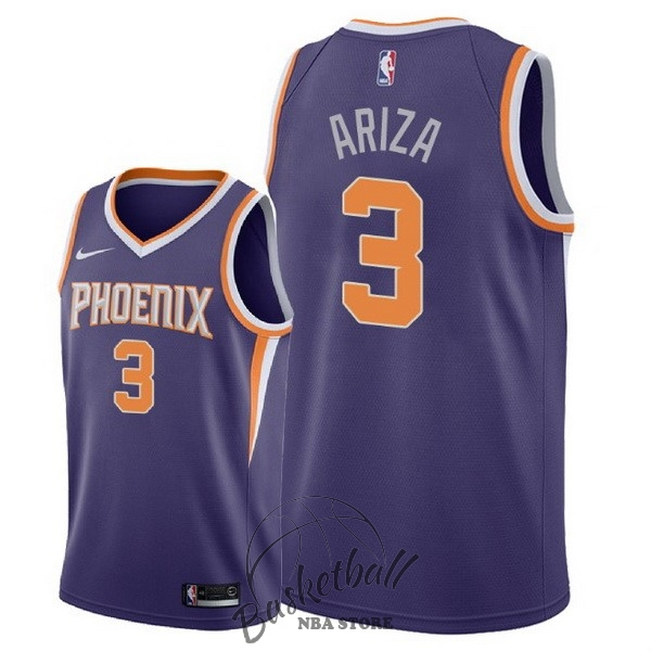 Choisir Maillot NBA Nike Phoenix Suns NO.3 Trevor Ariza Pourpre Icon 2018