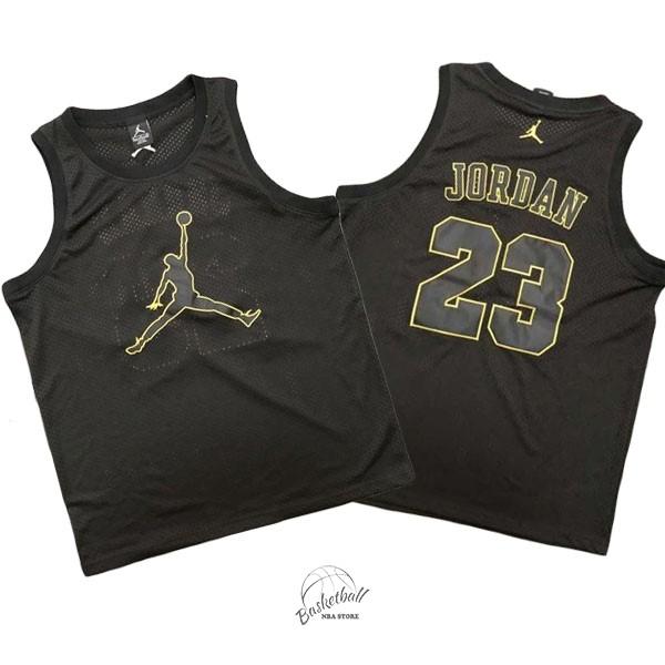 d85ce2549d82d0 Choisir Maillot NBA Chicago Bulls NO.23 Michael Jordan Jordan Logo Noir