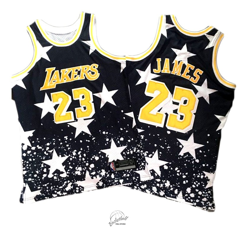 Choisir Maillot NBA Cleveland Cavaliers NO.23 LeBron James Retro Noir AU