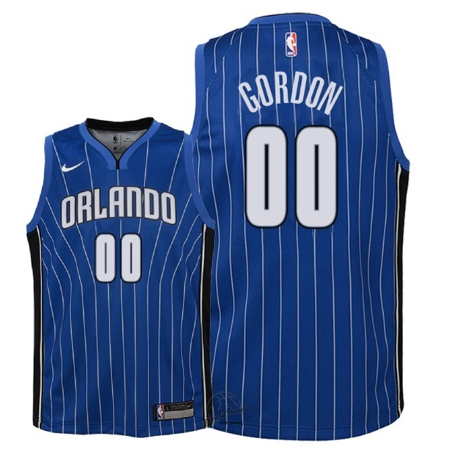 Choisir Maillot NBA Enfant Orlando Magic NO.0 Aaron Gordon Bleu Icon 2018