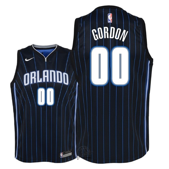 Choisir Maillot NBA Enfant Orlando Magic NO.0 Aaron Gordon Noir Statement 2018