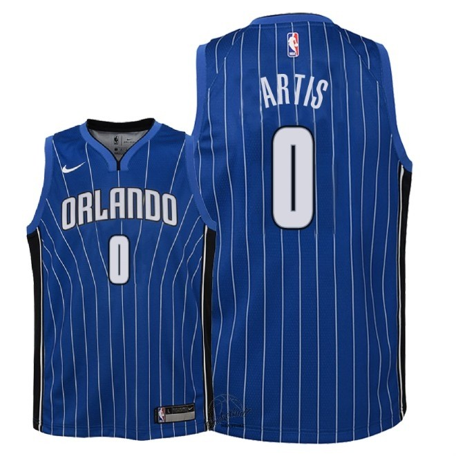 Choisir Maillot NBA Enfant Orlando Magic NO.0 Jamel Artis Bleu Icon 2018