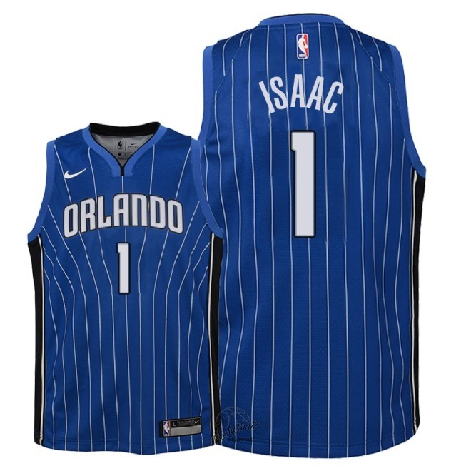 Choisir Maillot NBA Enfant Orlando Magic NO.1 Jonathan Isaac Bleu Icon 2018
