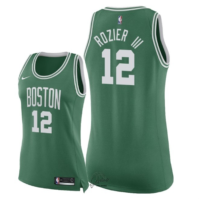 Choisir Maillot NBA Femme Boston Celtics NO.12 Terry Rozier III Vert Icon 2018