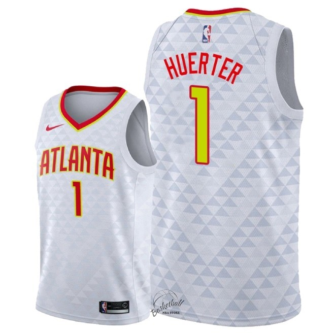 Choisir Maillot NBA Nike Atlanta Hawks NO.1 Justin Anderson Blanc Association 2018