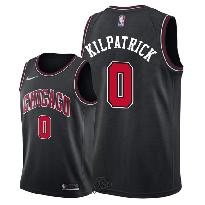 Choisir Maillot NBA Nike Chicago Bulls NO.0 Sean Kilpatrick Noir Statement 2018