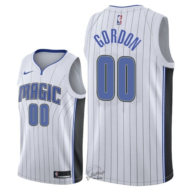 Choisir Maillot NBA Nike Orlando Magic NO.0 Aaron Gordon Blanc Association 2018