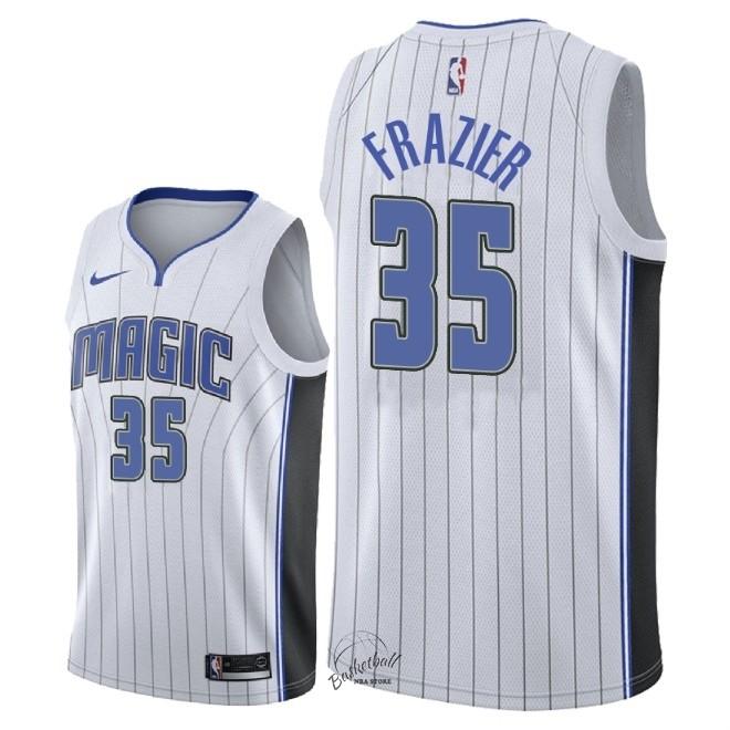f8cfa36304d97 Choisir Maillot NBA Nike Orlando Magic NO.35 Melvin Frazier Blanc  Association 2018