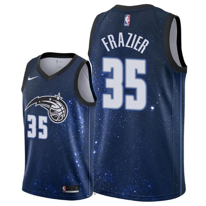 4eabf24d10277 Choisir Maillot NBA Nike Orlando Magic NO.35 Melvin Frazier Nike Marine  Ville 2018