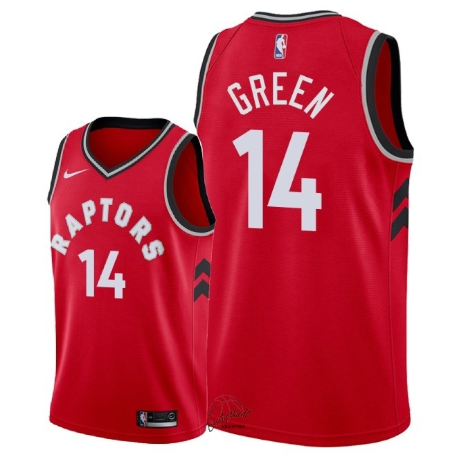Choisir Maillot NBA Nike Toronto Raptors NO.14 Danny Green Rouge Icon 2018