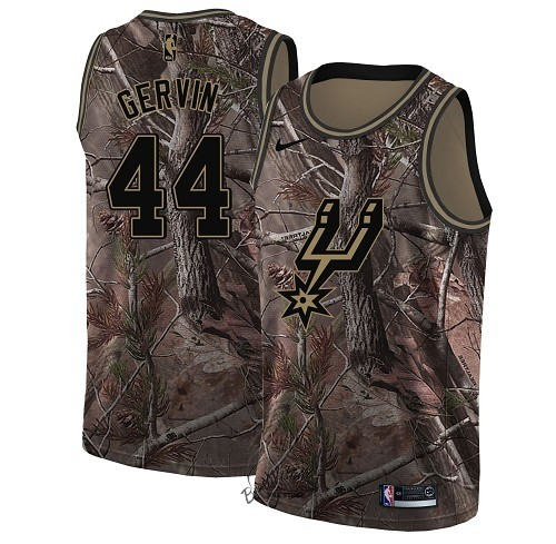 Choisir Maillot NBA San Antonio Spurs NO.44 George Gervin Camo Swingman Collection Realtree 2018