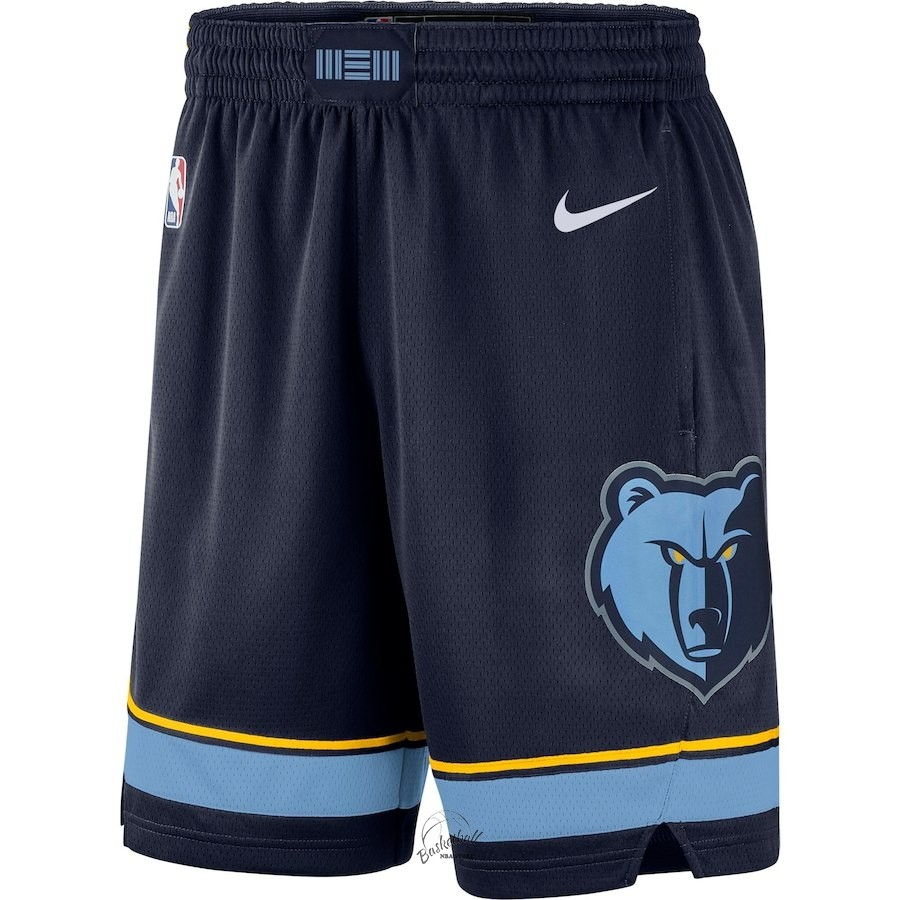 Choisir Short Basket Memphis Grizzlies Nike Marine Icon 2018-19