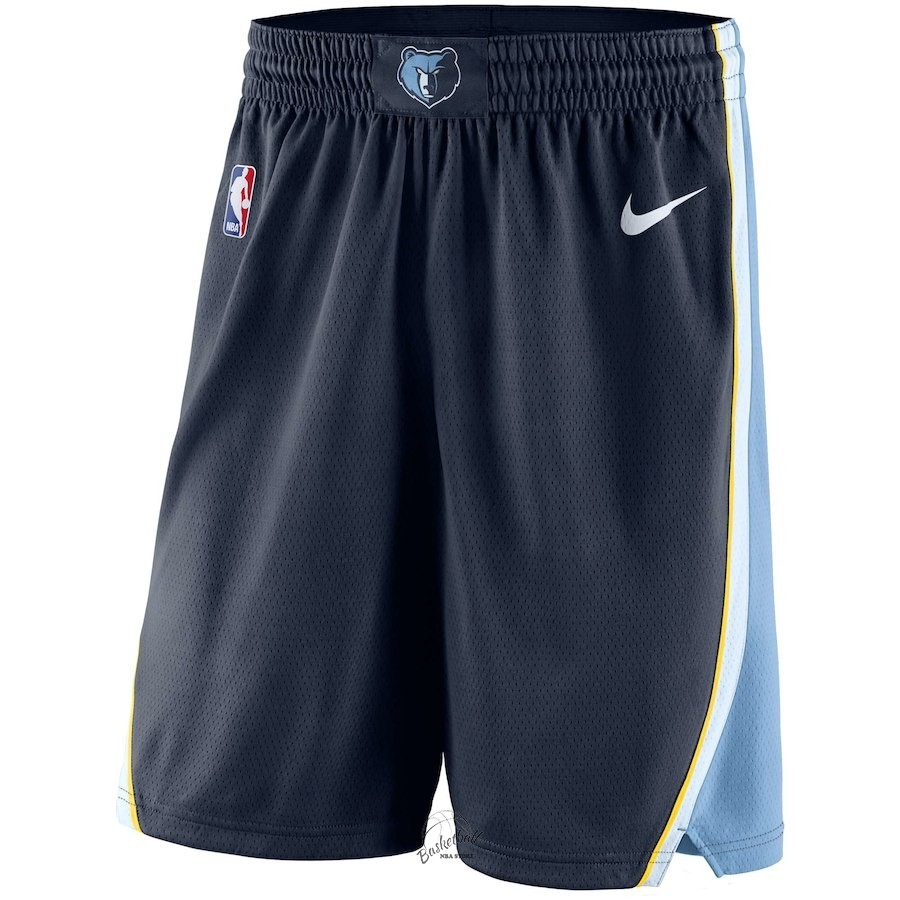 Choisir Short Basket Memphis Grizzlies Nike Marine Icon 2018