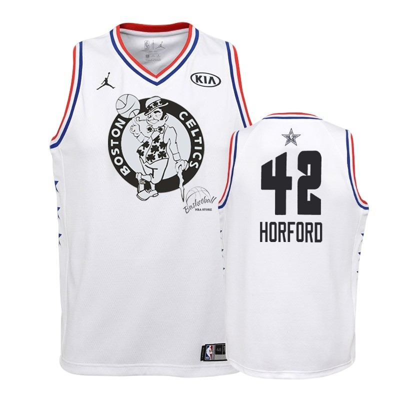 Choisir Maillot NBA Enfant 2019 All Star NO.42 Al Horford Blanc