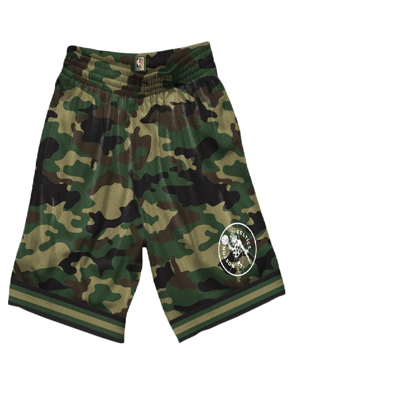 Choisir Short Basket Boston Celtics camo