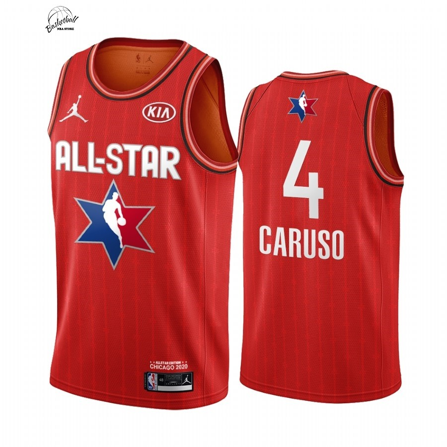 Choisir Maillot NBA 2020 All Star NO.4 Alex Caruso Rouge