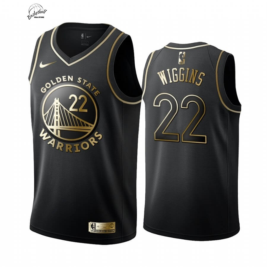 Choisir Maillot NBA Nike Miami Heat NO.22 Andrew Wiggins Or Edition 2019-20