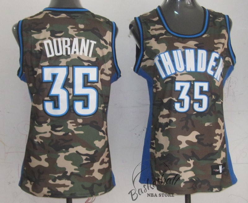 Choisir Maillot NBA Femme 2013 Camouflage Fashion NO.35 Kevin Durant