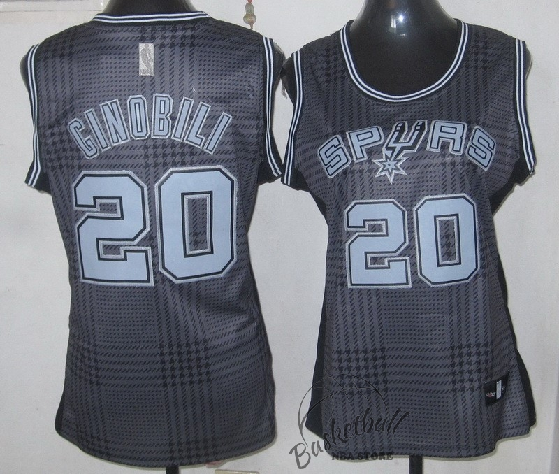 Choisir Maillot NBA Femme 2013 Static Fashion NO.20 Ginóbili