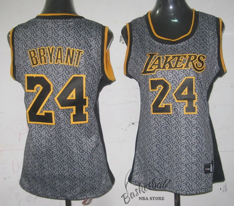 Choisir Maillot NBA Femme 2013 Static Fashion NO.24 Kobe Bryant