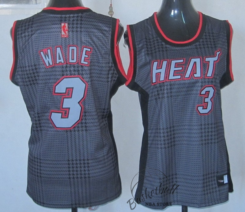 Choisir Maillot NBA Femme 2013 Static Fashion NO.3 Wade