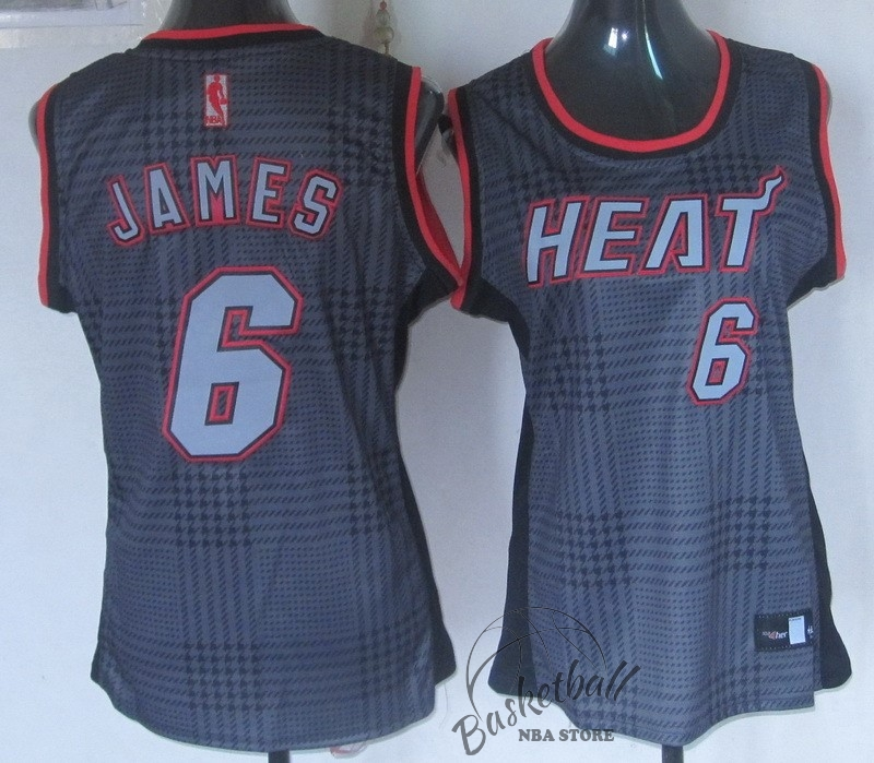 Choisir Maillot NBA Femme 2013 Static Fashion NO.6 James