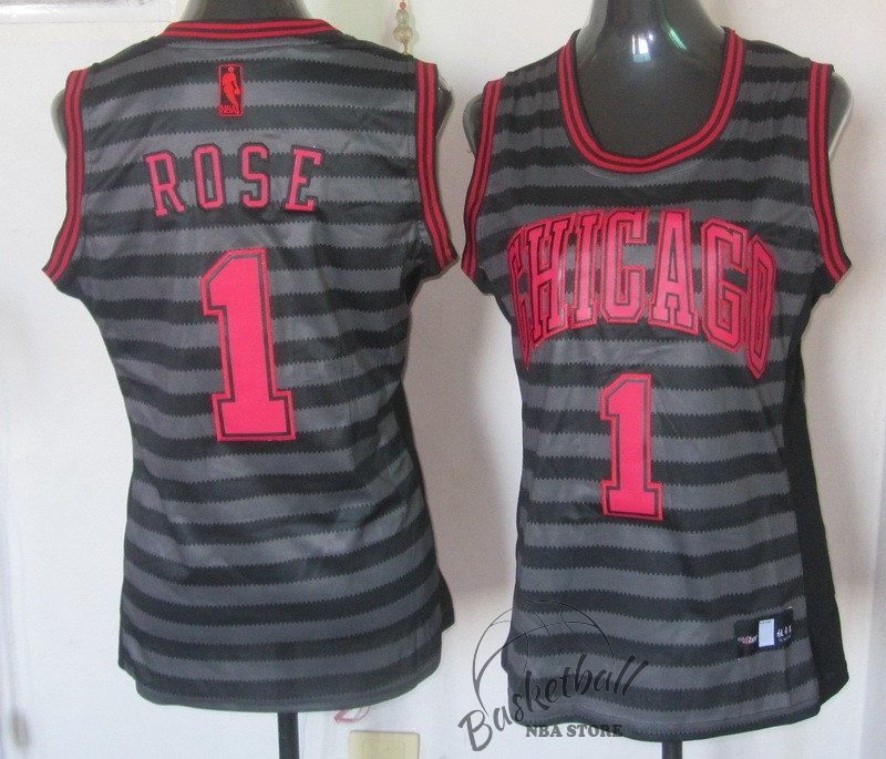 Choisir Maillot NBA Femme Groove Fashion NO.1 Derrick Rose