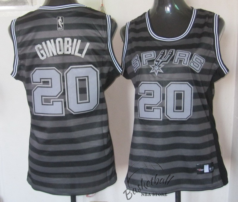 Choisir Maillot NBA Femme Groove Fashion NO.20 Manu Ginóbili