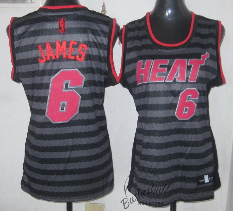 Choisir Maillot NBA Femme Groove Fashion NO.6 LeBron James