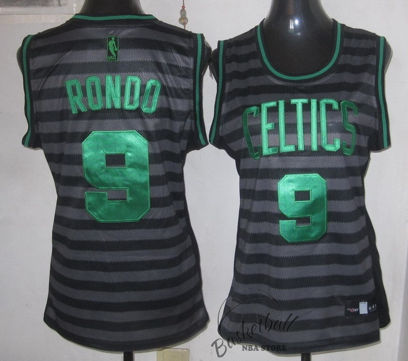 Choisir Maillot NBA Femme Groove Fashion NO.9 Rajon Rondo