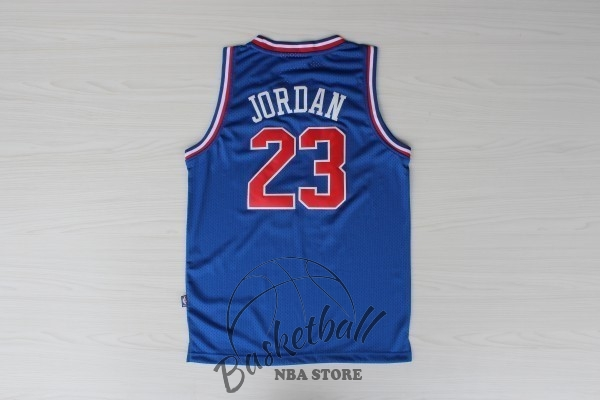 Choisir Maillot NBA 1992 All Star NO.23 Michael Jordan Bleu