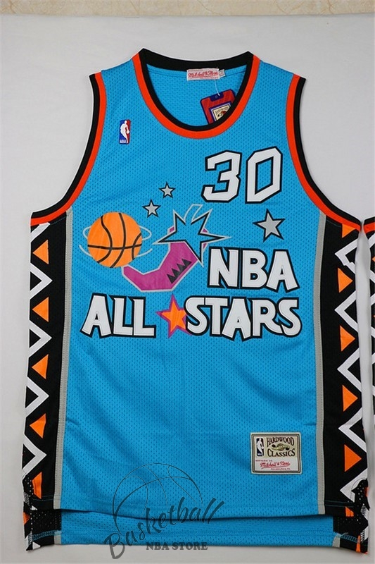 Choisir Maillot NBA 1996 All Star NO.30 Scottie Pippen Bleu