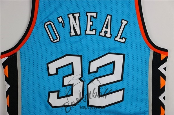 Choisir Maillot NBA 1996 All Star NO.32 Shaquille O'Neal Bleu