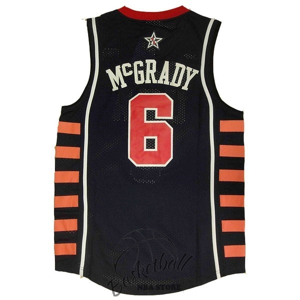 Choisir Maillot NBA 2004 USA NO.6 McGrady Noir